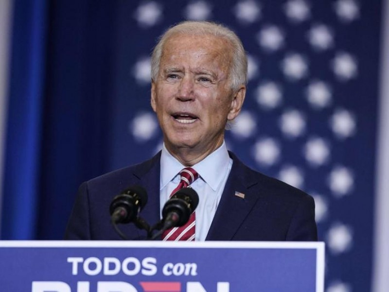 El candidato demócrata Joe Biden da negativo a Covid-19