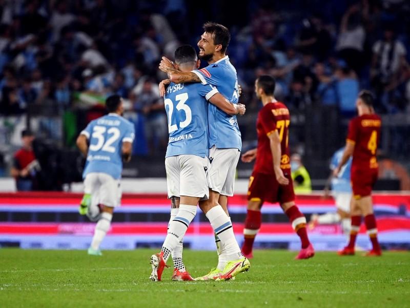 El clásico de Roma se lo quedó la Lazio