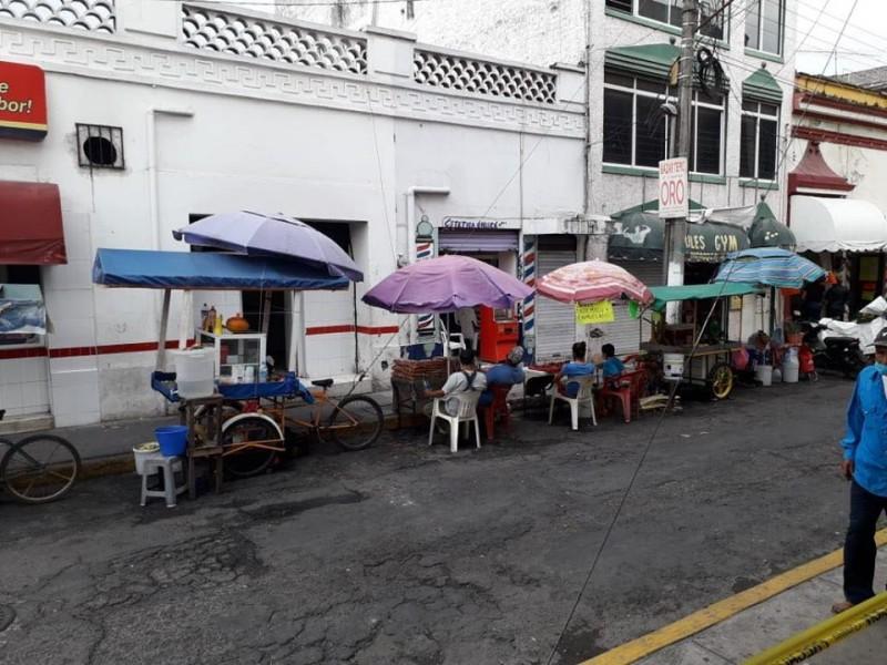 El comercio informal, principal impedimento de cuarentena en Nayarit