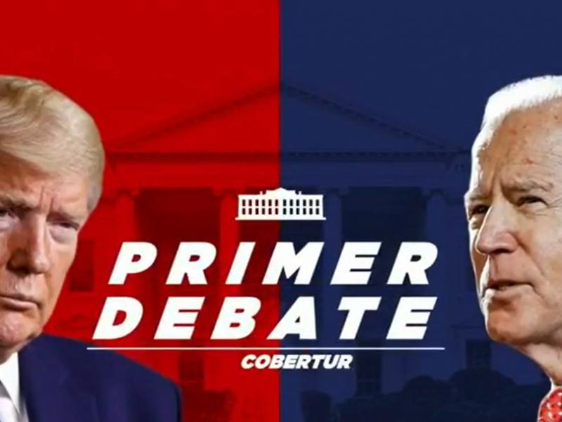 El debate no lo ganó Trump, lo perdió Biden:Rodrigo Aguilar