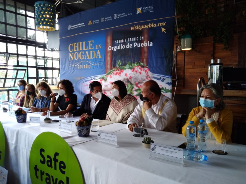 El EDOMEX se une al festival del Chile en Nogada