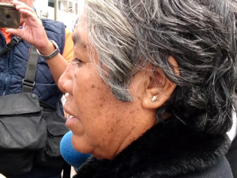 Ejercito mató a mi hijo: pobladora de Acajete