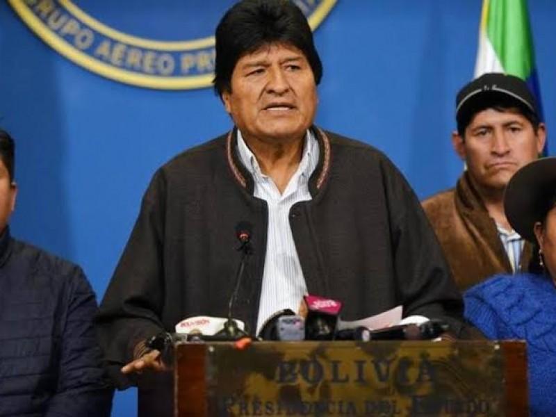 Ejército boliviano obliga a Evo Morales a renunciar