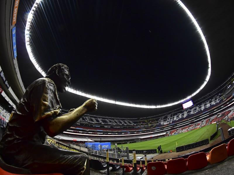El Estadio Azteca abre sus puertas a la afición