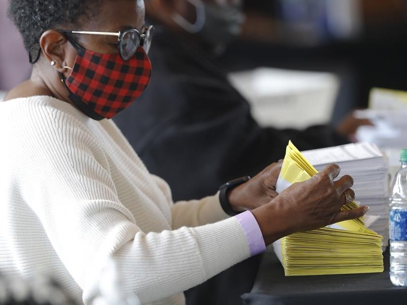 El estado de Georgia anuncia  recuento de votos