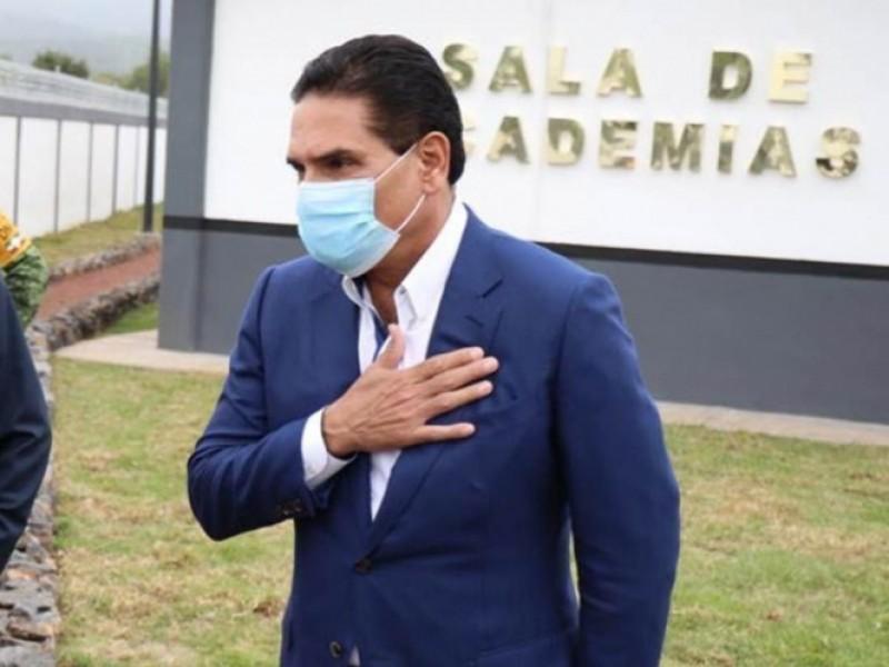 El gobernador Silvano Aureoles da positivo a Covid-19