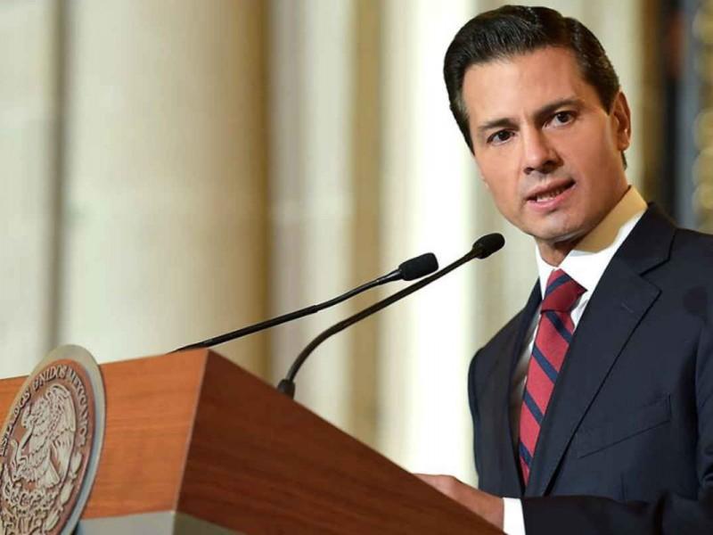 El Gobierno respetará el proceso electoral: EPN