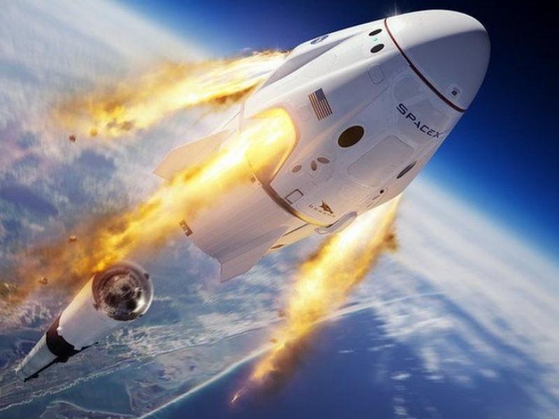 El histórico lanzamiento espacial de la NASA y SpaceX