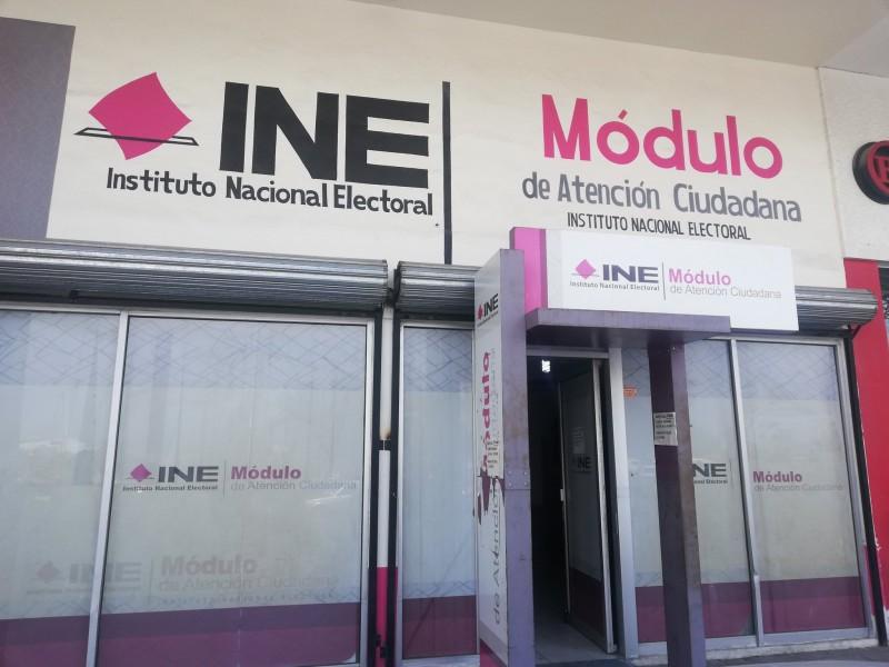 El INE reabre módulos para la atención ciudadana