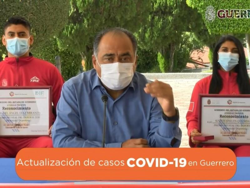 El influyentismo en vacunación anticovid es reprobable, ratifica Astudillo Flores
