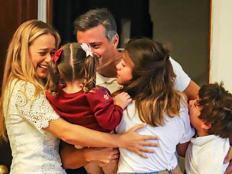 El líder venezolano Leopoldo Lopez llegó a Madrid