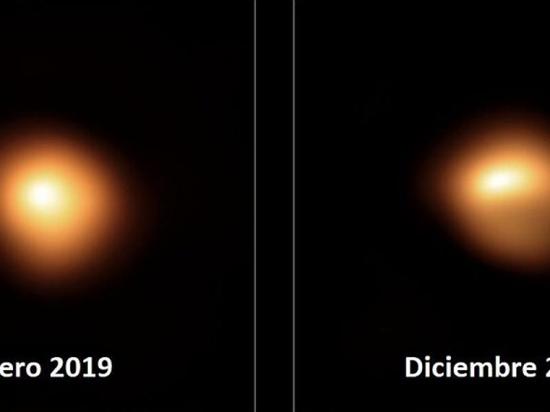 El misterio de la estrella Betelgeuse