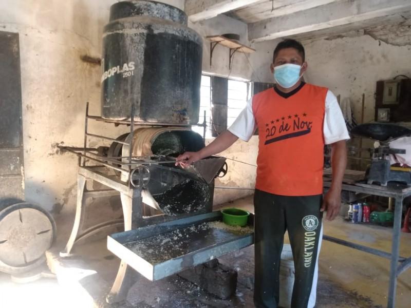El molinero, personaje muy querido en Juchitán