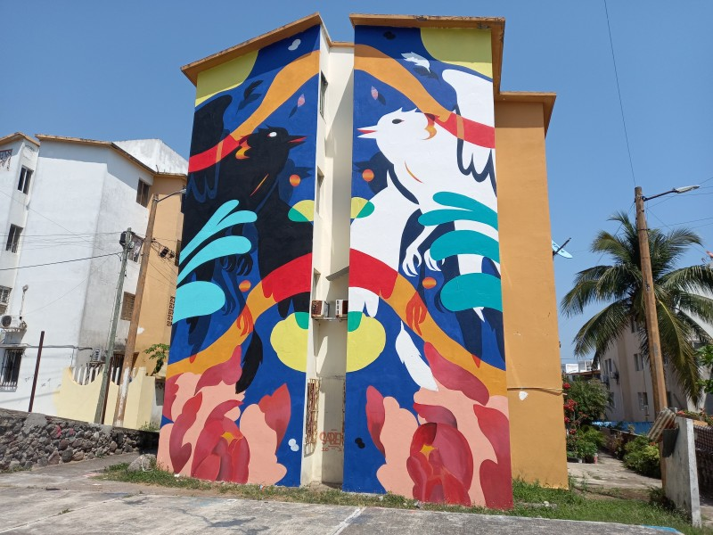 El Morro se ha convertido en un espacio artístico