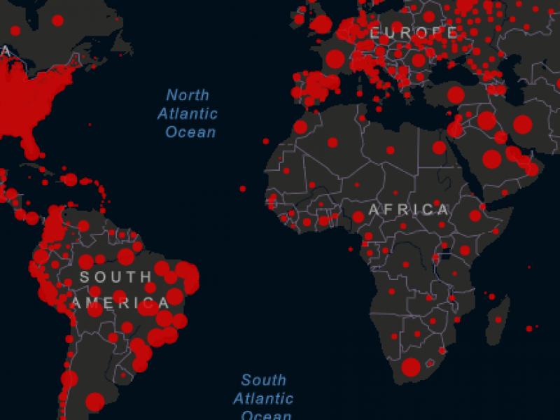 El mundo supera los 30 millones de infectados Covid-19