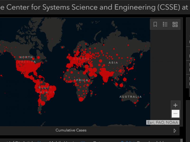 El mundo supera los 800 mil muertos por Covid-19