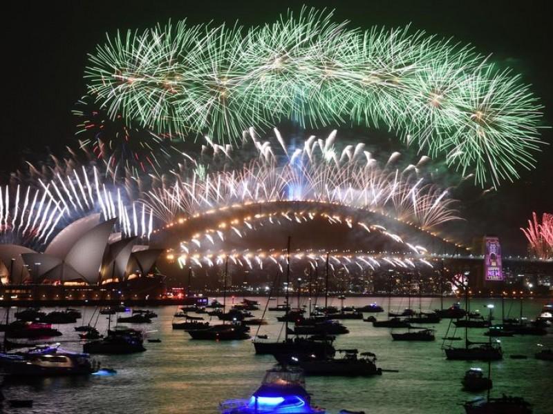 El mundo celebra una nueva década: ¡Feliz 2020!