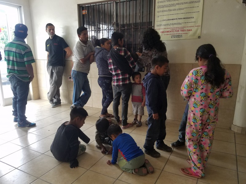 El municipio no es apto para alojamiento migrante