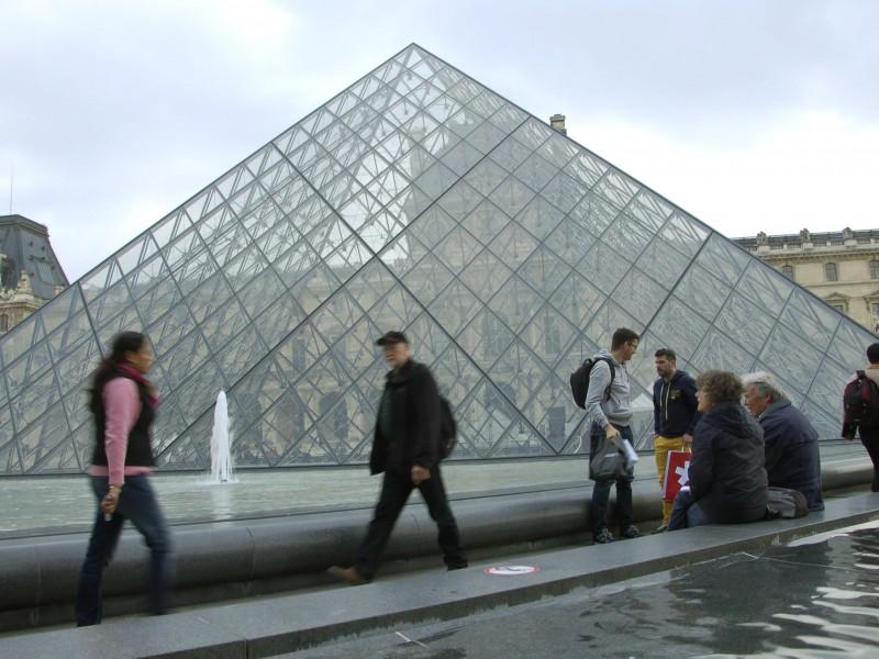 El Museo del Louvre, 10,2 millones de visitantes