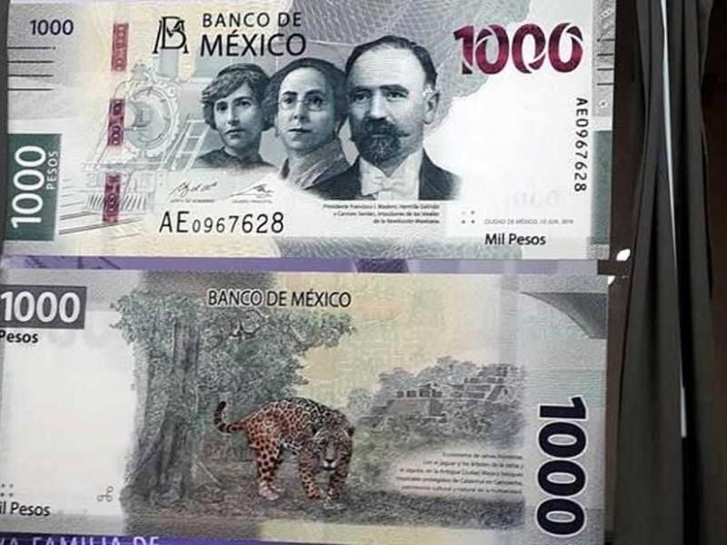 El nuevo billete de mil pesos ya entró en circulación