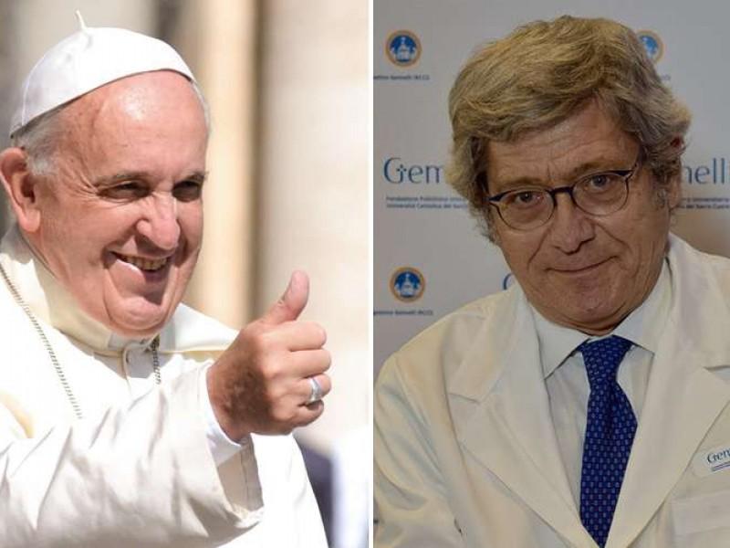 El Papa Francisco elige nuevo médico