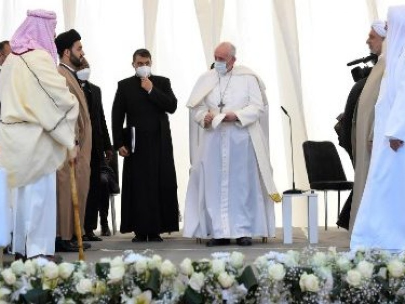 El Papa pide reconstruir ciudades iraquíes