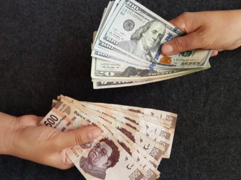 El peso inicia perdiendo este martes frente al dólar