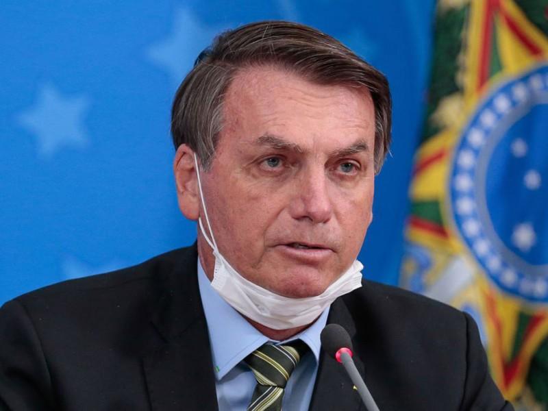 El presidente de Brasil, Jair Bolsonaro, da positivo a Covid-19