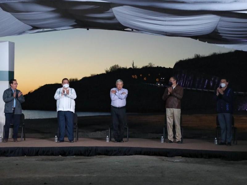 El presidente López Obrador garantizó que habrá abasto de energía