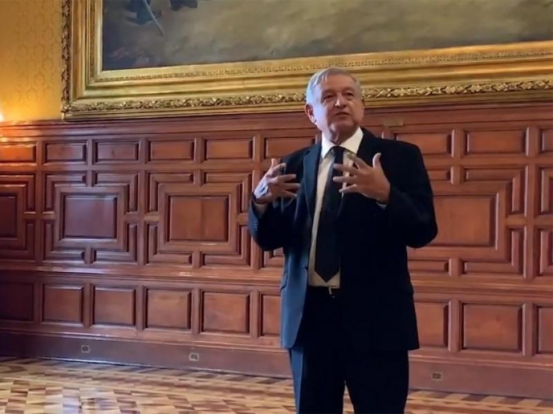 El presidente López Obrador invita al Grito