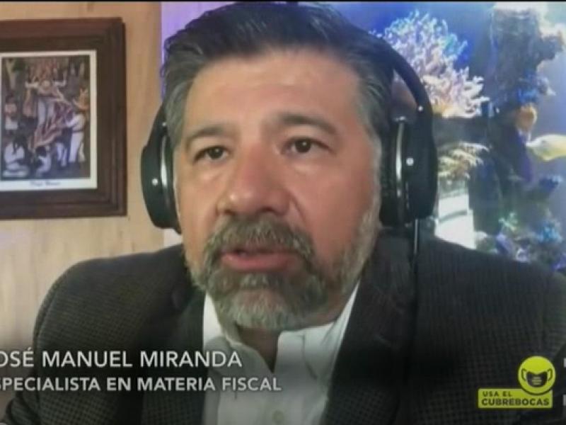 El presupuesto 2021 contemplan incremento de recaudación fiscal: Manuel Miranda