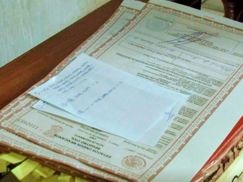 El registro civil de Jacona reinicia actividades presenciales