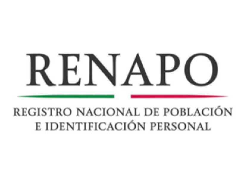 El Renapo trabaja para corregir falla en CURP