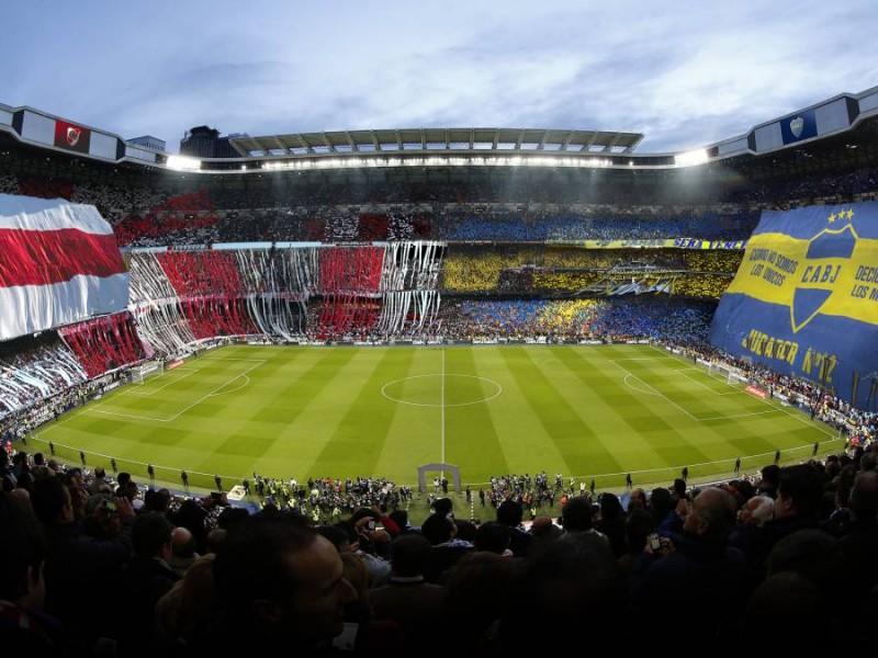 El River-Boca se jugará en el Santiago Bernabéu