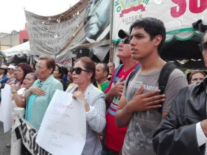 El SUTSEM realizará plantón frente a Palacio de Gobierno