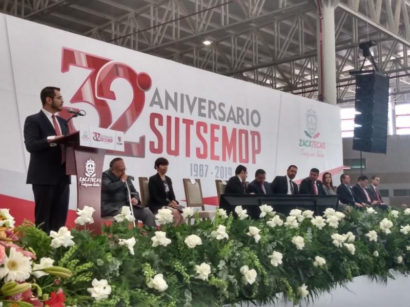 El Sutsemop celebra 32 años de sindicalismo