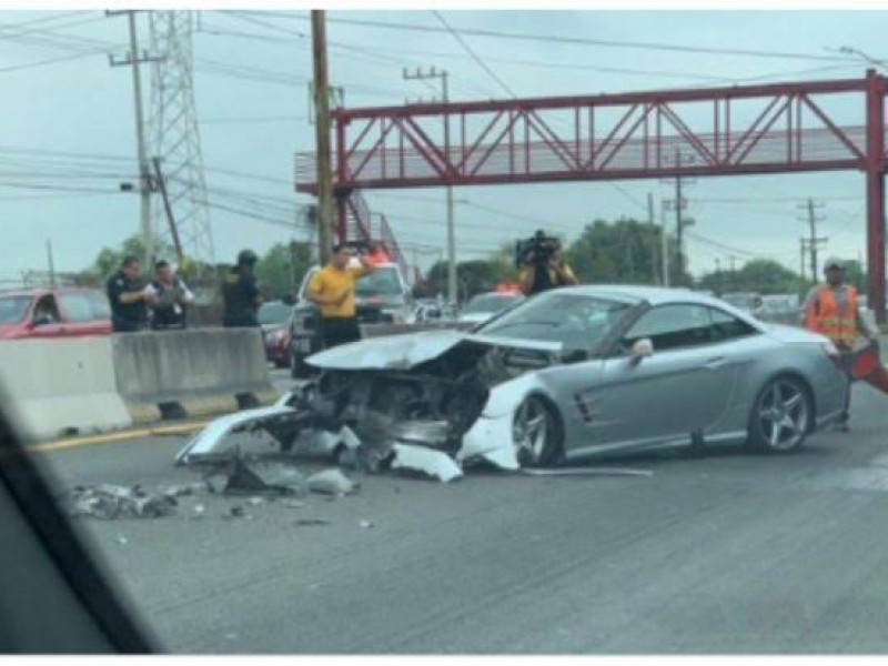 El 'Tuca' Ferretti sufre aparatoso accidente