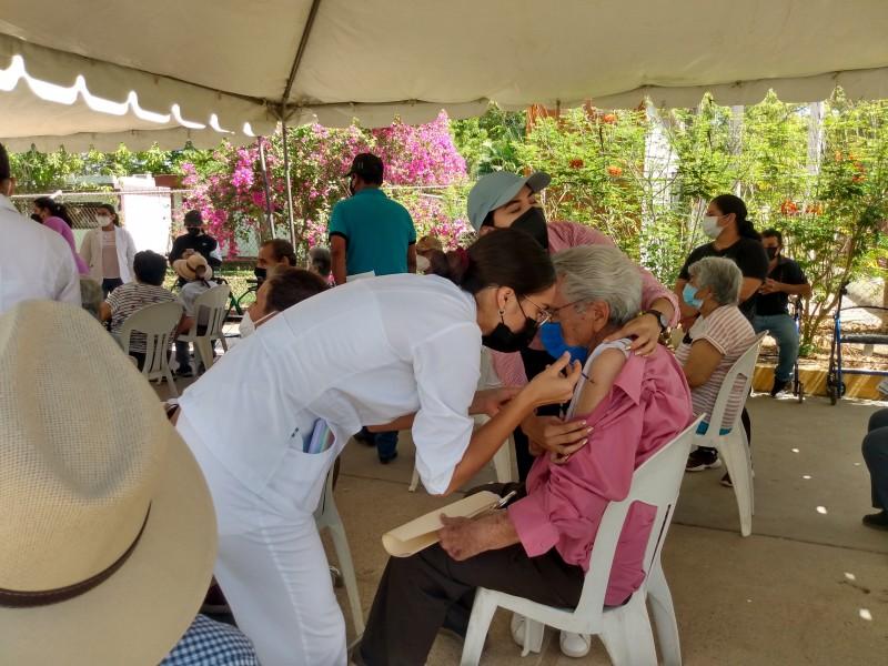 El viernes culminaría vacunación de adultos mayores en Guasave