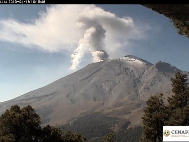 El volcán no ha presentado variaciones