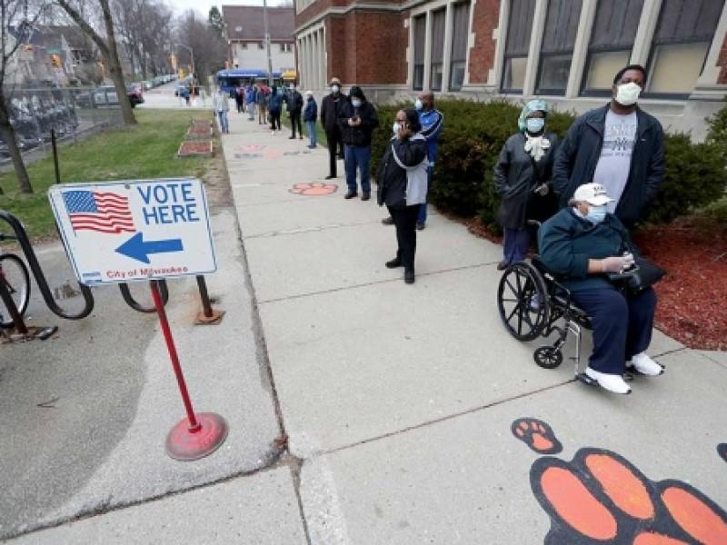 Elecciones en EUA se realizan en medio de la pandemia