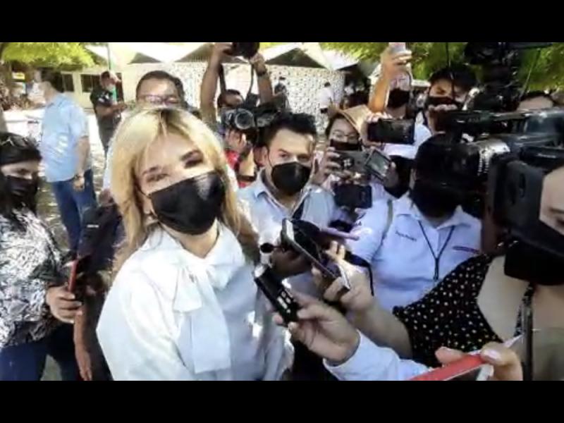 Elecciones en paz deseó gobernadora de Sonora