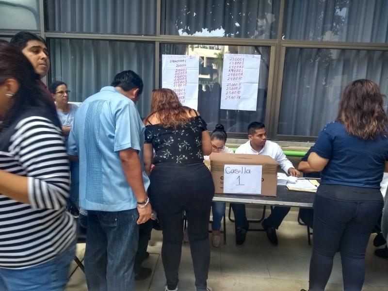 Elecciones para renovar líder del SNTSA