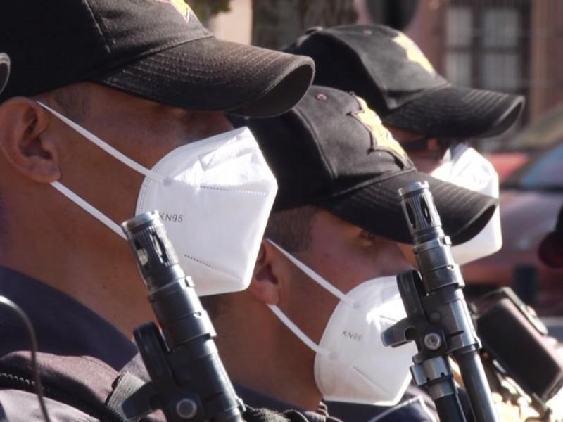 Elementos de la Policía Metropolitana trabajan bajo convenio vencido