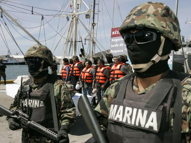 Elementos de Marina aún sin llegar a Jalisco