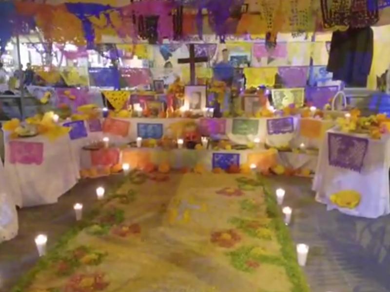 ¿Qué elementos llevan los altares?