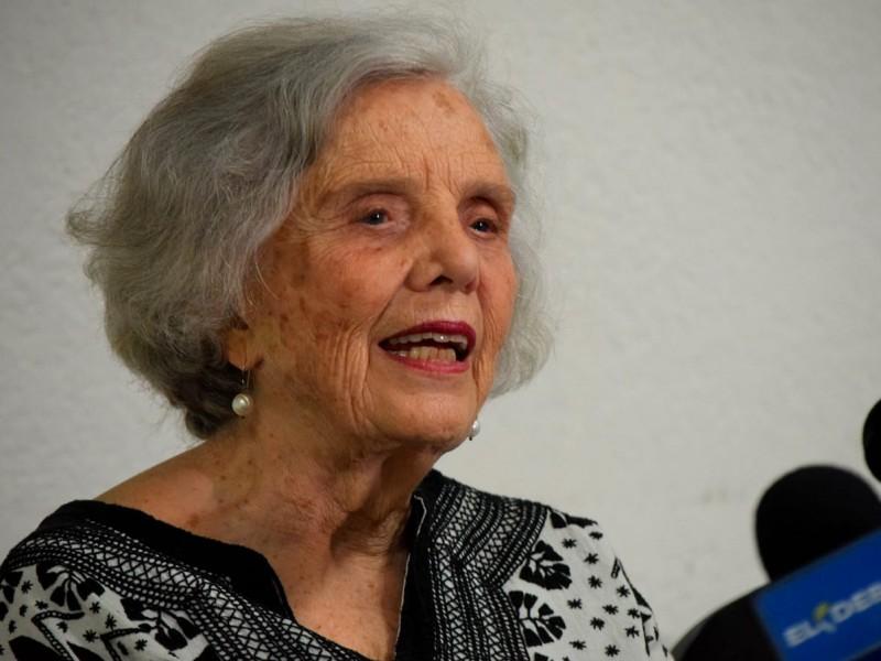📹Elena Poniatowska recibe Premio Nacional de Letras Sinaloa