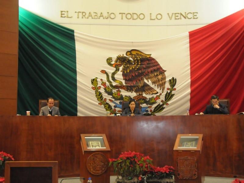 Eligen comisión permanente de legislatura local