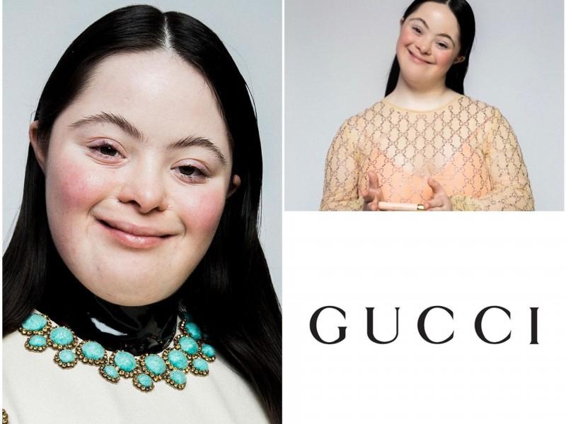 Ellie Goldstein, modelo con Síndrome de Down, rompe el internet