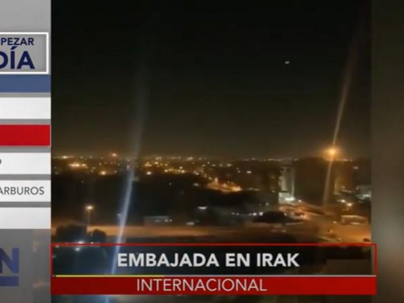 Embajada de EE.UU en Irak repele ataque aéreo