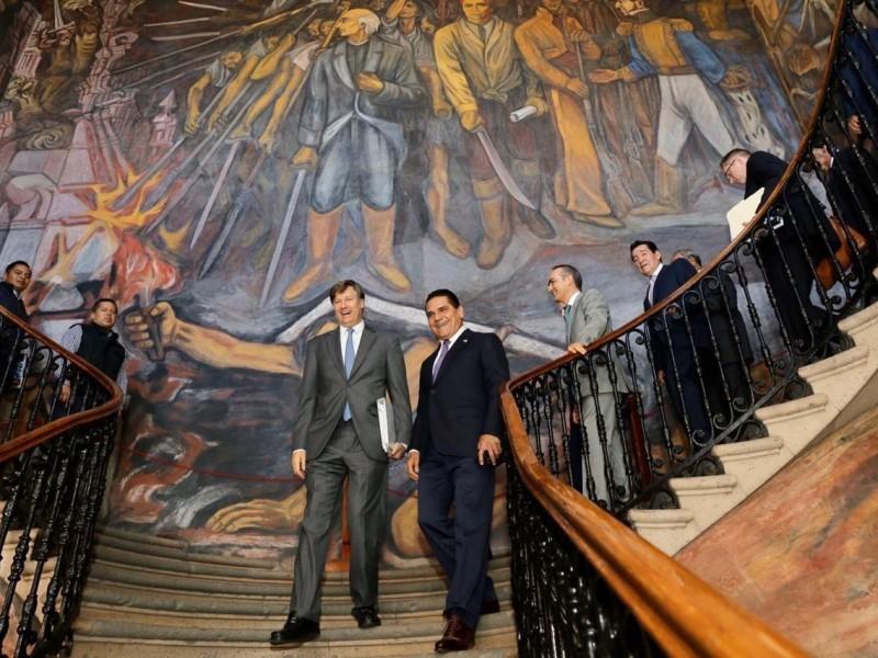 Embajador de EUA visita Michoacán